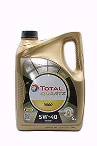 Total 148650 Quartz 9000 5W-40 Aceites de Motor para Coches, 5 litros