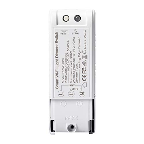 ONEVER Smart Switch AC 110-240V Domotica e Controllo vocale WiFi Dimmer Switch Smart Home