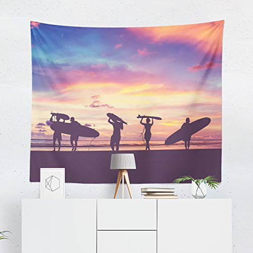 59.1x39.4 Inch Surf Tapestry Beach Tapestry Surfing Tapestry Surf Wall Decor Surf Wall Hanging Surfing Wall Decor Beach Wall Decor