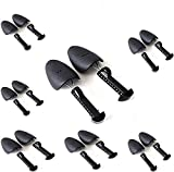 Crosfen 5 Pairs of Shoe Trees I Adjustable Length Shoe Trees for Men I Shoe & Boot Trees I Men Shoe Tree Stretcher Boot Holder Organizers I Shoe Form Plastic I Heel Support