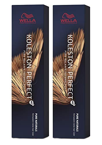 Wella 2 er Pack Koleston Perfect Me+ KP DEEP BROWNS 6/73 dunkelblond braun-gold