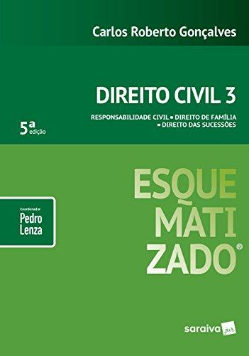 Direito Civil Esquematizado. Responsabilidade Civil, Direito de Família e Direito das Sucessões - Volume 3