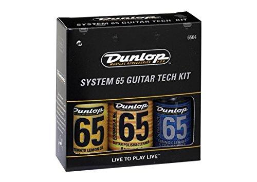 LIMPIADOR Y LUBRICANTE GUITARRA - Dunlop (6504) Guitar Tech Kit (6554 + 654 + 6582 + 2 Gamuzas)