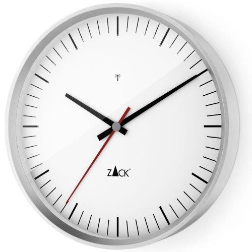 ZACK Funk-Wanduhr VIDA 60067, weiß, rund D. 35 cm