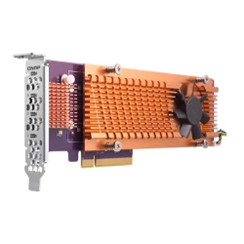 QNAP Quad M.2 PCIe SSD expansiekaart voor de Volksrepubliek x71U x73 TS-x77 ▸x82(U) TS-x80U TS-x80U-SAS TS-1685 TS-x85U TS-x89U