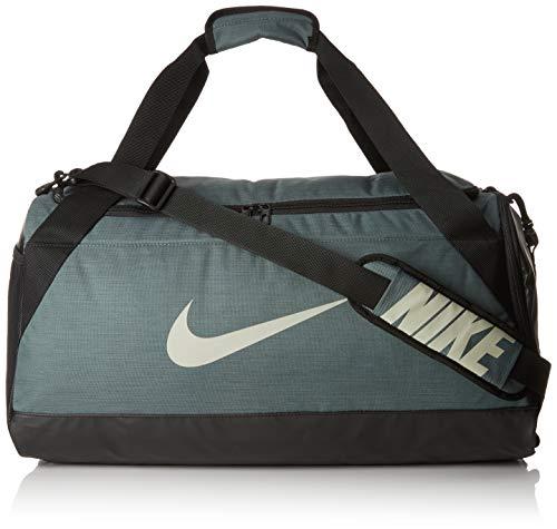 Nike UnisexSporttasche Brasilia Duff Klassische Sporttaschen, Mehrfarbig (mineral spruce/black/spruce fo/344), Medium