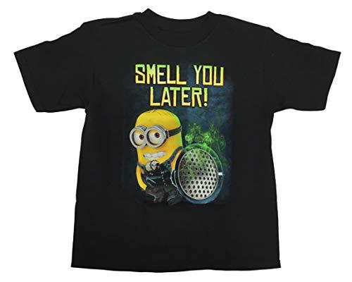 Ich - Einfach unverbesserlich Jungen T-Shirt mit Rundhalsausschnitt - Schwarz - XL