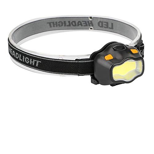 Linterna frontal LED Mini impermeable Cob LED Faro 900 lm 3 modos Rojo Advertencia de Seguridad Faro Camping Linterna Frontal Faro Linterna Frontal