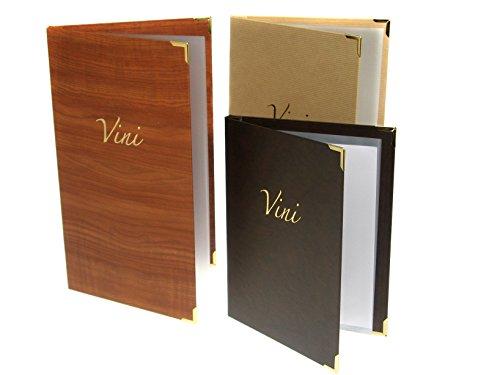 H&H Pengo 1800 B16 Porta Listino Vini, 18.5X31.5 cm, Legno