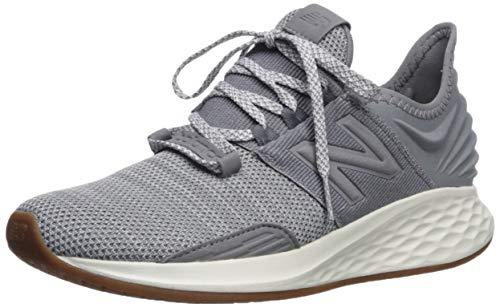 New Balance Women's Roav V1 Fresh Foam Running Shoe ,GUNMETAL/LIGHT ALUMINUM , 7.5 M US