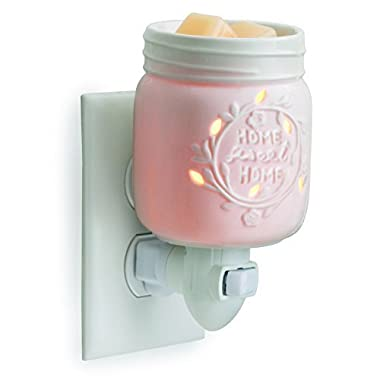Candle Warmers Etc. Pluggable Fragrance Warmer, Mason Jar