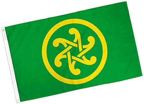 New Pan-Celticism Flag 3x5ft Celtic Nationalism Banner Flag Celticism House Flag Wall Desk Party Indoor Outdoor All Weather Banner Flag TR06233WI