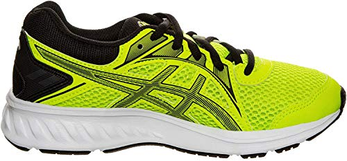 ASICS Unisex-Kinder Jolt 2 Gs Leichtathletik-Schuh, Sicherheit Gelb/Schwarz, 36 EU