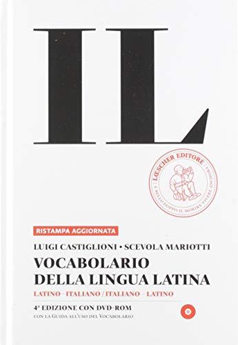 Vocabolario della lingua latina + Guida + DVD ROM.