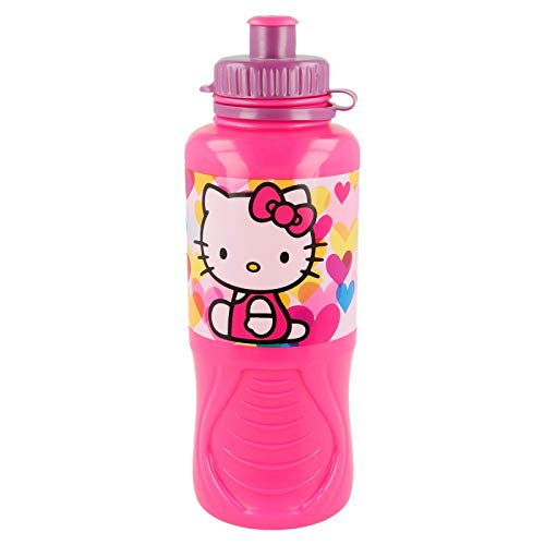 Stor Botella ERGONOMICA 400 ML | Hello Kitty Hearts
