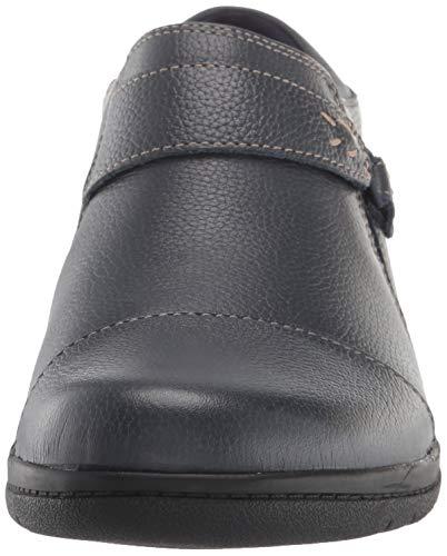 Clarks Women's Cheyn Onyx Loafer Flat