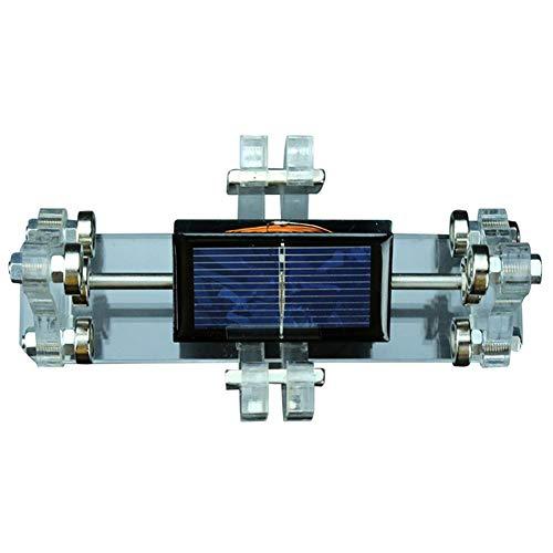 XFY Motor de Levitación Magnética Solar, Modelo Educativo para Experimentos Científicos Teching Demo Props, Kit de Laboratorio, Rotación Automática Bajo Luz