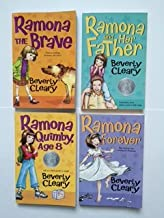 Beverly Cleary (Set of 4) Ramona the Brave; Ramona and Her Father; Ramona Quinby, Age 8; Ramona Forever