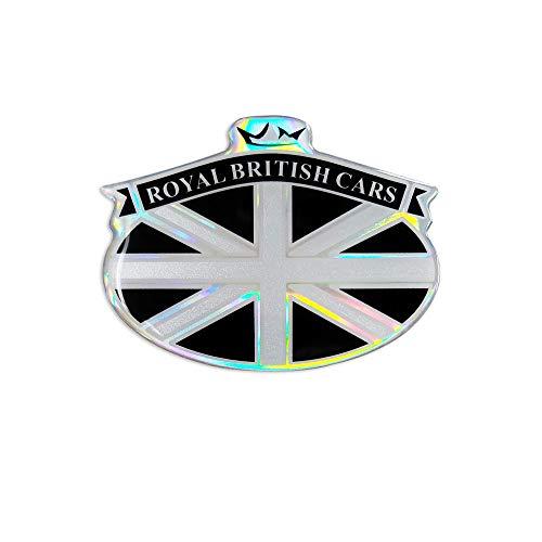 4R Quattroerre.it 14160 Sticker Adesivo 3D Stemma Royal British Cars