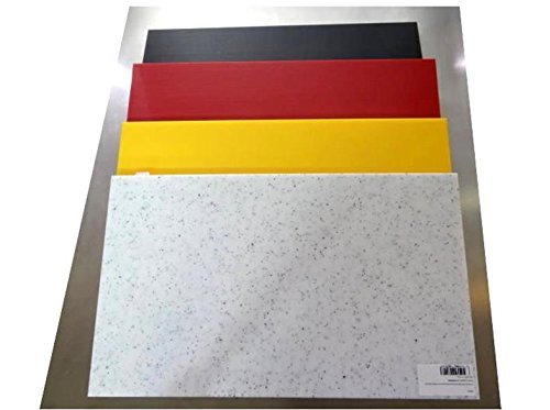 Trend Planche à découper de Planches à découper colorée 50 x 30 x 1,5 cm Effet marbre