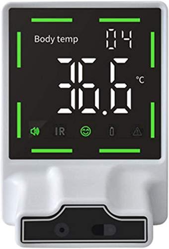 WQY Termometro infrarossi Senza Contatto Termometro a Parete Termometro a induzione Automatica da Tavolo di Alta precisione per Uffici, Centro Commerciale,Tempi di Consegna: 10-15 Giorni