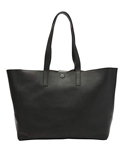Liebeskind Berlin Damen Carli Shopper Schultertasche, black-9999, 14x29x50 cm