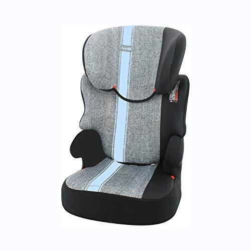 Nania Kindersitz Befix Gruppe 2/3 4 Sterne Adac Französisches Produkt Linea Nania Blau 15-36 kg