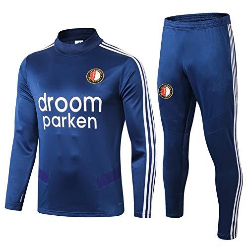 LQRYJDZ Männer Sportswear-Anzüge, Feyenoord Football Club Track Anzüge, Trainingsanzüge, Fans-Trikots, Spielanzüge (Size : XXL)