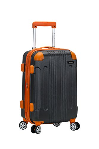 Rockland London Hardside Spinner Wheel Luggage, Charcoal