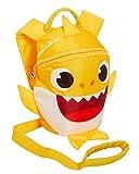 Mochila para niños y niñas, con riendas, arnés de seguridad desmontable con aletas de tiburón 3D