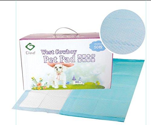 Glad Yantai Pet Pad and Puppy Training Pads (50 Pack), 23.5