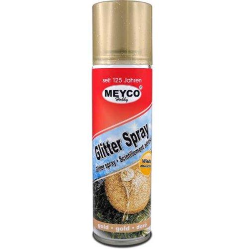 Deko-Spray, Glitter Spray, Gold, 100 ml