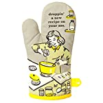 """Blue Q Oven Mitt""""Droppin' A New Recipe On Your Ass"""" 2"""