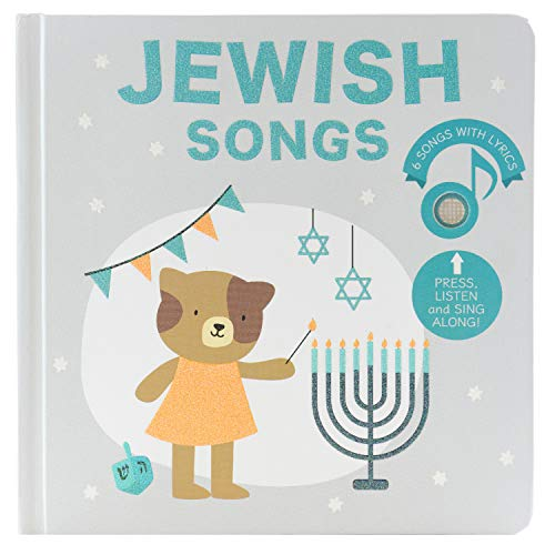 Cali's Books Jewish Songs Book - Jewish Childrens Book to Celebrate Jewish Holidays and Traditions: Hanukkah, Purim, Passover.Best Gift Jewish Toy for Little boy or Girl Ages 1-4
