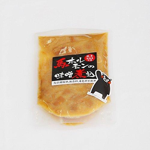 サクラスフーズ 馬 ホルモン 味噌煮込み(150g×1パック)【馬肉加工品 科学調味料・保存料・着色料不使用】