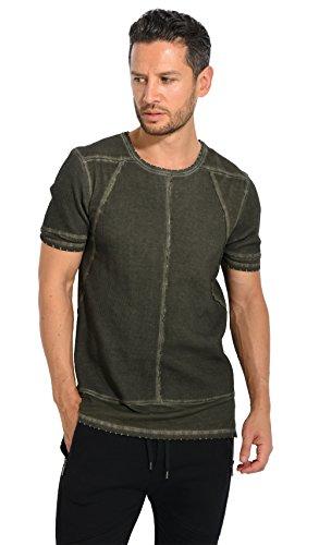 Black Kaviar - SEZAM - T-Shirt - kaki 6037221K - L, Olive
