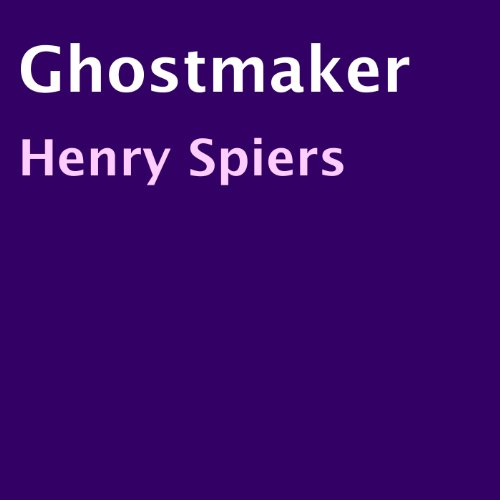 Ghostmaker audiobook cover art