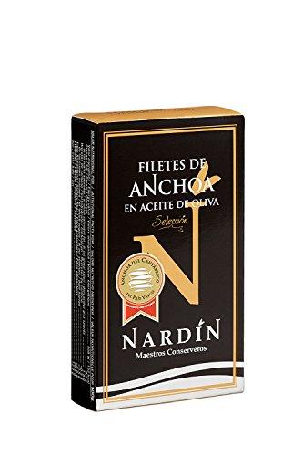 Filetes de anchoa en aceite de oliva 100g Selección Nardin