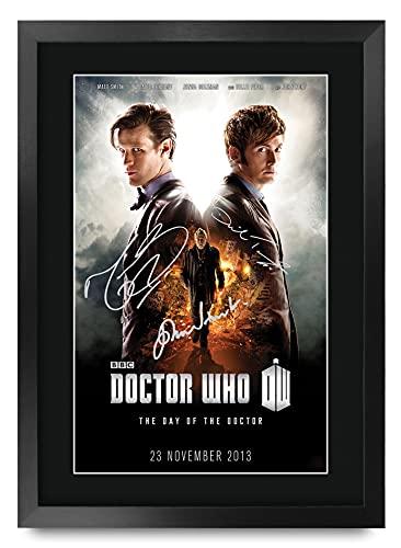 HWC Trading A3 P Dr Who - Doctor Día De La Serie De Televisión...