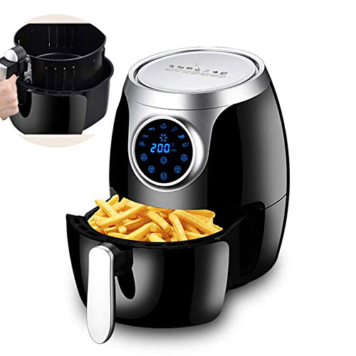 New Air Fryer 3.2L Digital Mini Oven 7-in-1 Oil Free Healthy Fryer, Detachable Dishwasher Safe Part,...