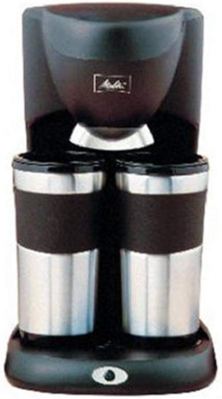 Melitta ME2TMB Take 2 Stainless Steel Travel Mug Coffeemaker