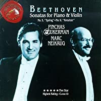 Beethoven:Sonatas for Piano & Violin - No. 5: Spring & No. 9: Kreutzer by Zukerman
