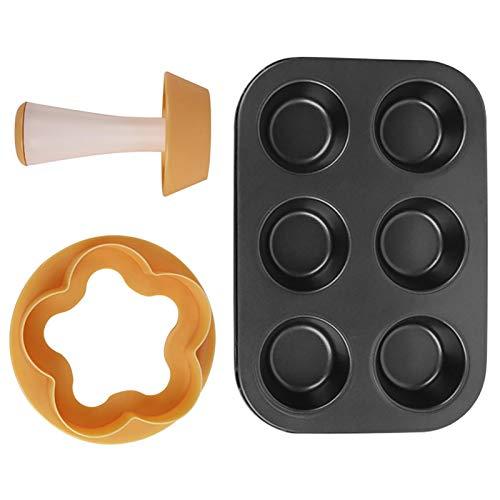 Gebäck-Teig-Manipulations-Kit, Gebäck-Teig-DIY-Formsatz, Plastikblumen- / Rundteig-Keks Kreative Kuchenbecher-DIY-Backwerkzeuge für Kuchen, Kekse