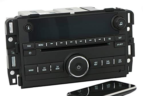 Factory Radio AM FM CD w Bluetooth Radio Compatible with 2007-13 Chevy GMC Truck Van 25941137 (Renewed) 4