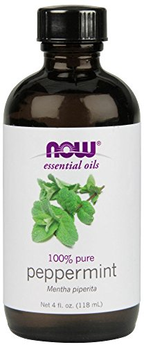 NOW Foods Peppermint Oil (Liquid), 4 oz (Oil Now Foods)