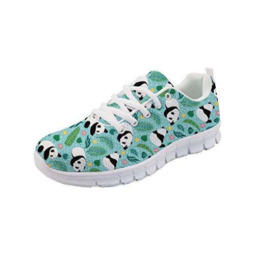 chaqlin Junge Mädchen Mode Sneaker Casual Wohnungen Laufschuhe Damen Schule Sport Turnschuhe Teenager College mit Panda Designer Trainer Größe 43