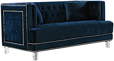 Amazon.com: Kingway Furniture Gilan Faux Leather Living Room ...
