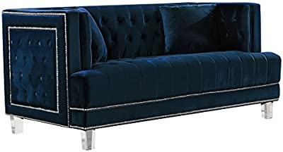 Cool Amazon Com Modern Tufted Bonded Leather Sleeper Futon Sofa Forskolin Free Trial Chair Design Images Forskolin Free Trialorg