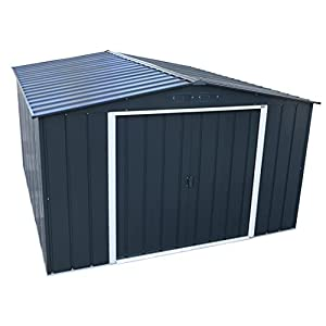 Duramax ECO 10x12 Large Metal Shed Galvanized