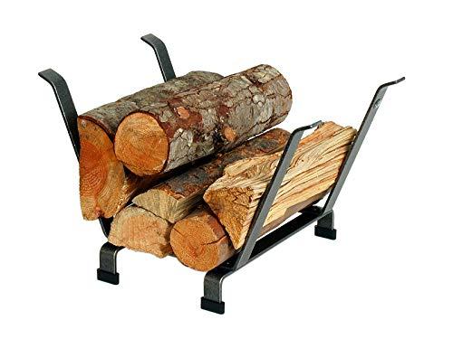 Review Enclume Country Home Log Basket Log Rack, Hammered Steel